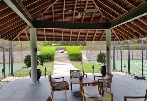 Quạt trần cổ điển Marelli lắp đặt ở Reort Amanoi Bình Thuận